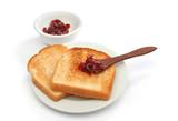 a beautiful breakfast scene poster