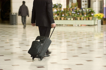 traveling businessman