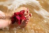 splashing feet 2 poster
