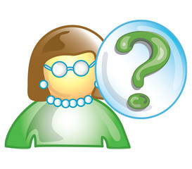 teacher question icon