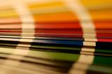 gamme de couleur poster