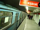 métro budapest poster
