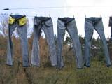les quatre jeans poster