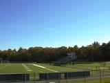 football field. poster