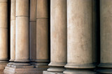 architectural columns poster