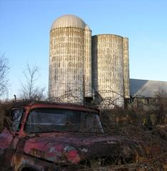 old farm yard.