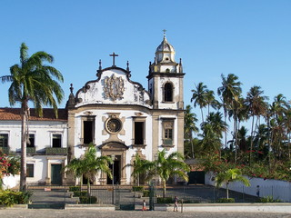 portuguese church in olinda