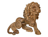wooden lion poster