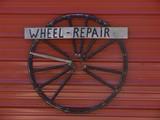 wheel repair poster