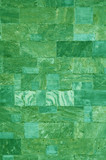 green marble tiles texture poster