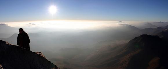 ombre sur le mont sinai