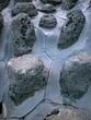 lava rocks on jeju island, korea