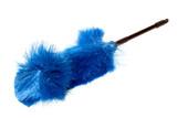 blue dust brush, fanned poster