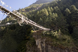 dudh koshi suspension bridge poster