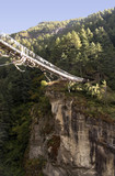 dudh koshi suspension bridge poster