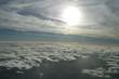 vue des nuages d'un avion