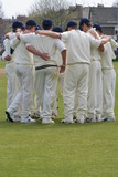 cricket huddle