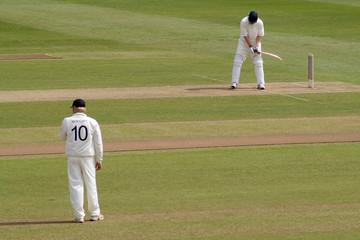 batsman and fielder
