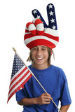usa patriot boy poster