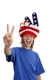 patriotic teen - goofy poster