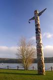northwest totem pole poster