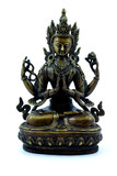 buddhist effigy poster