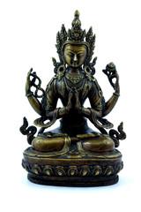 buddhist effigy