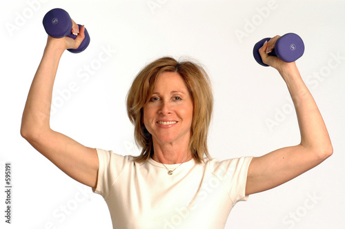 poster of fitness instructor