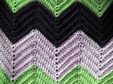 afghan pattern poster