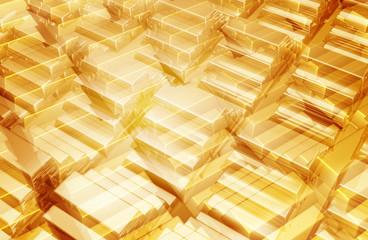 gold bars background