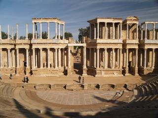ruinas romanas de merida, españa