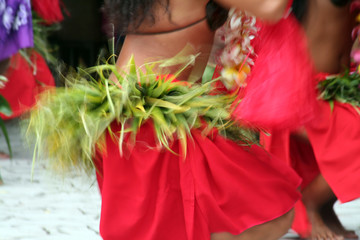 tahitian dance skirt