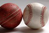 change happens - cricket to baseball poster