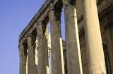 ancient pillars - forum romanum poster