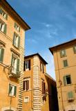 italian houses poster