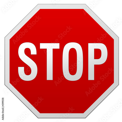 stop sign - 599558