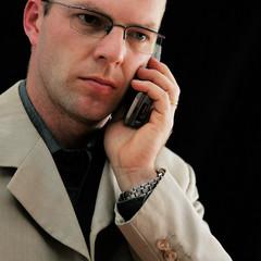 mauvais business au téléphone