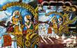 peintures murales indiennes