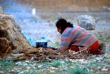 pauvreté dans les rues de delhi