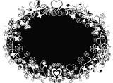 grunge valentine background poster