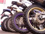 bikes row poster