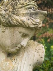 female classical garden statue