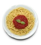 italian pasta - spaghetti poster