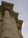 antique columns poster