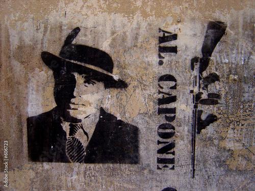 Fototapeten,graffiti,mann,gangster,krimi