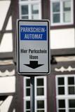 parkschein-automat poster