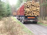 wood transport poster