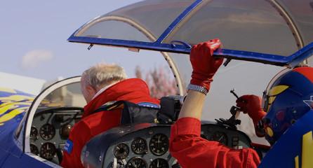 pilote de voltige