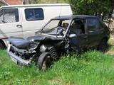 la voiture accidentée poster