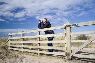 man birdwatching 2